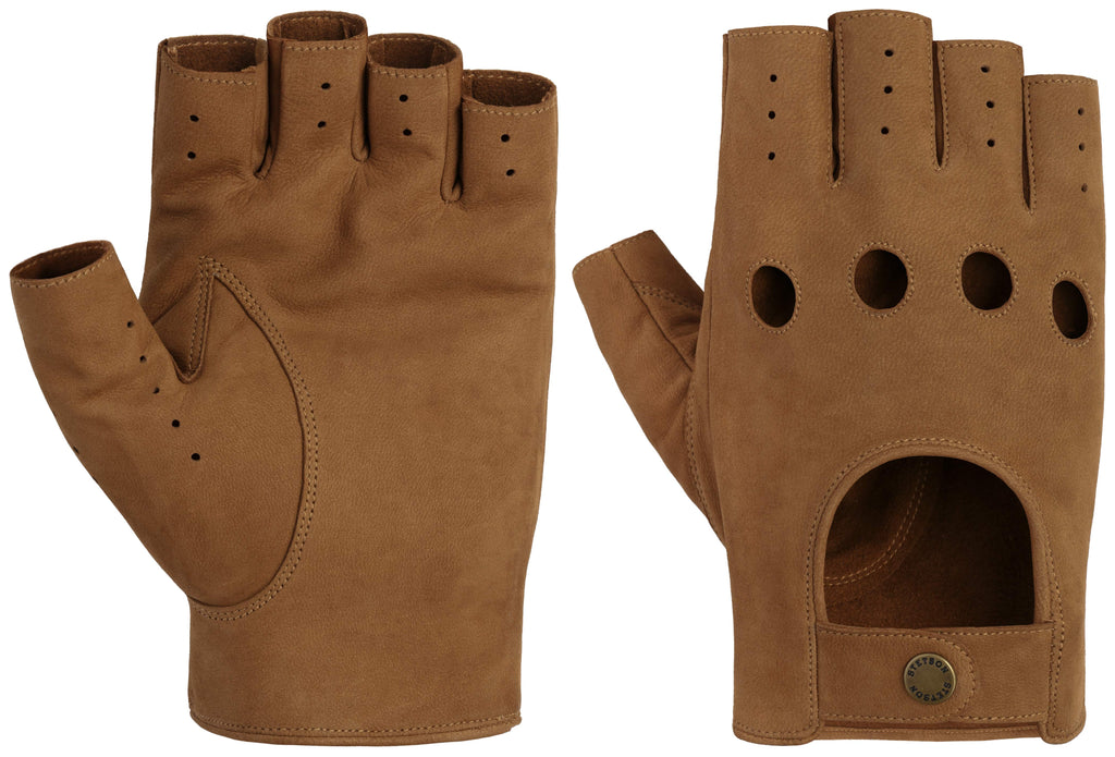 Stetson Hanskar - Racing Gloves Oily Goat Nubuck - 9497202 72