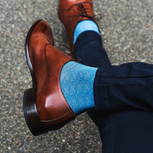 London Sock - BLOOMSBURY BLUE