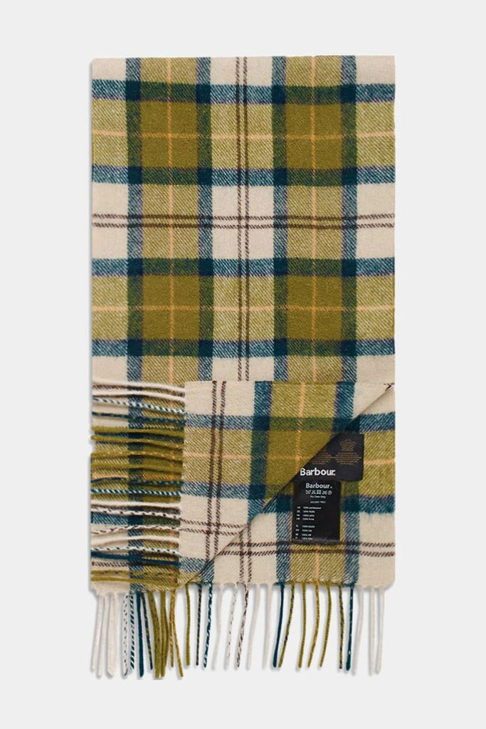 Barbour Trefill - Tartan Lambswool Scarf - Ancient