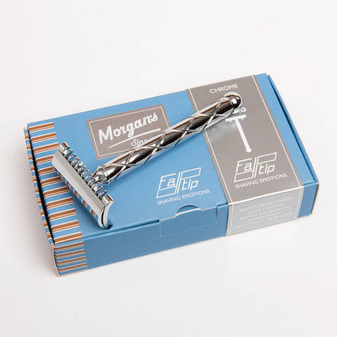 Morgans - Safety Razor (Rakskafa) - Chrome