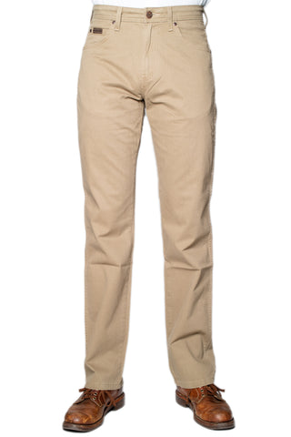 Wrangler Buxur - Arizona Stretch - Safari Khaki