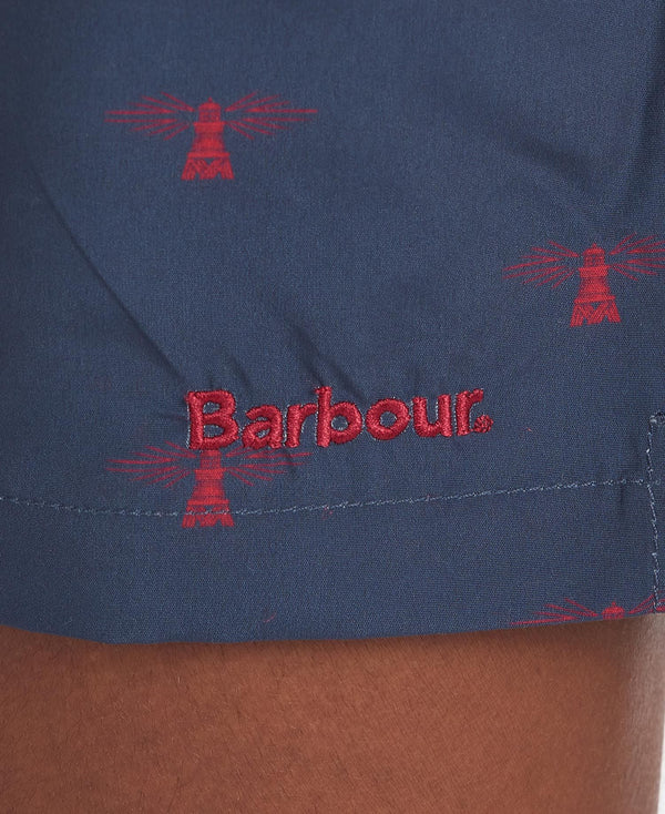 Barbour Sundbuxur - Coastal Swimshort - Navy