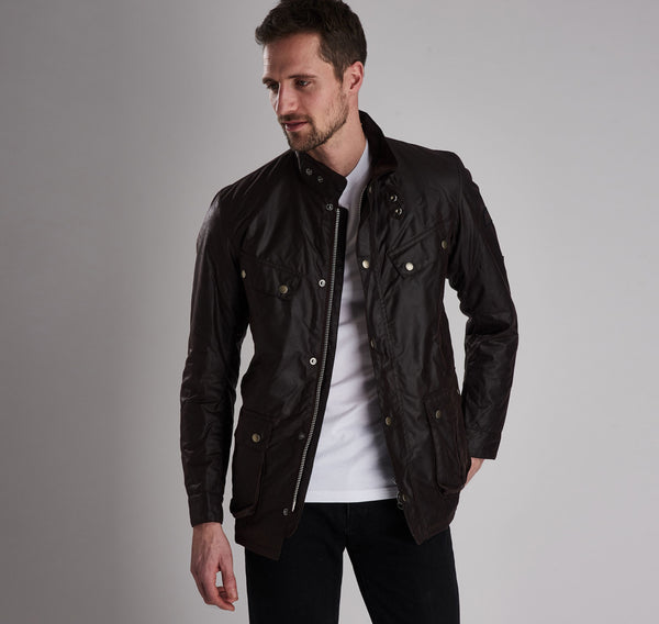 Barbour Intl. Vaxjakki - Duke Wax Jacket - Rustic