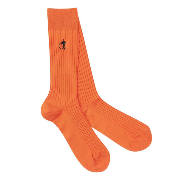 London Sock - Curious Orange