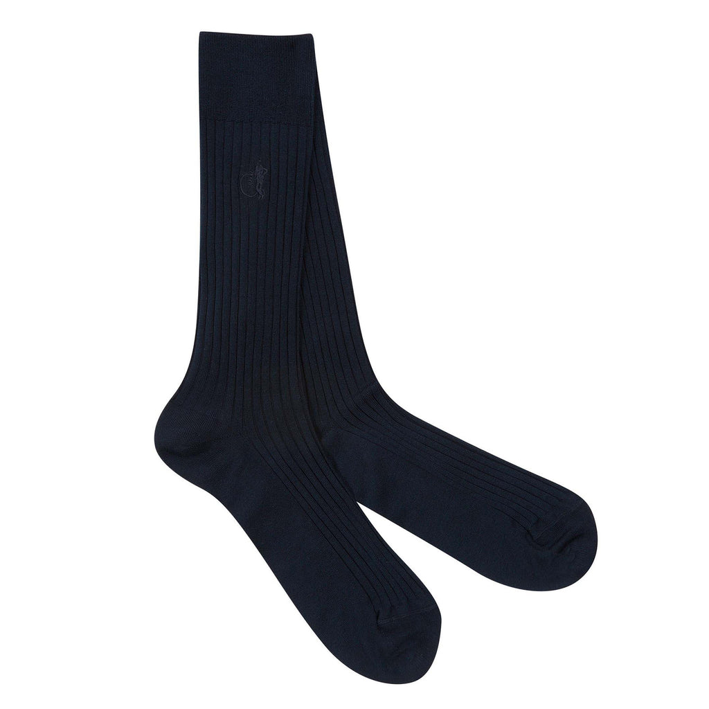 London Sock - Sokkar - Navy