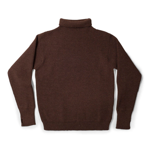 Sailor Turtleneck - Natural Brown - Andersen Andersen