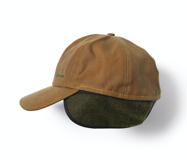 Filson Derhúfa - Insulated Tin Cloth Cap - Dark Tan