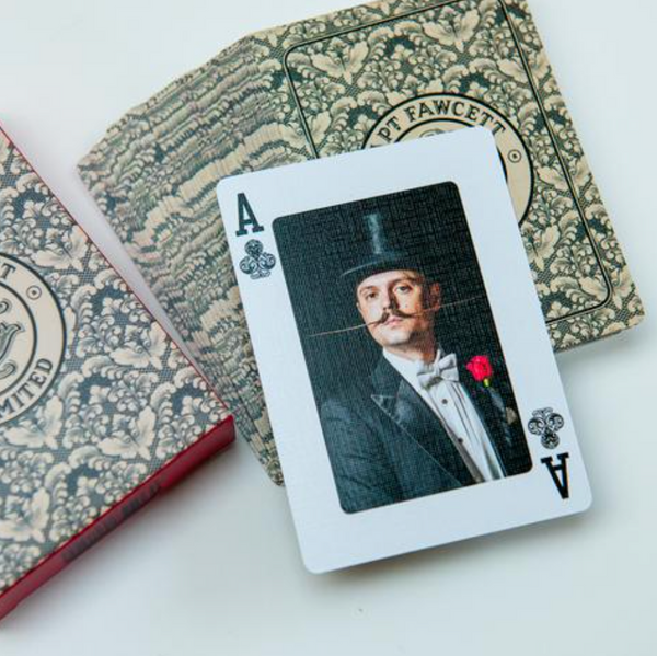 Captain Fawcett Spil - Playing Cards