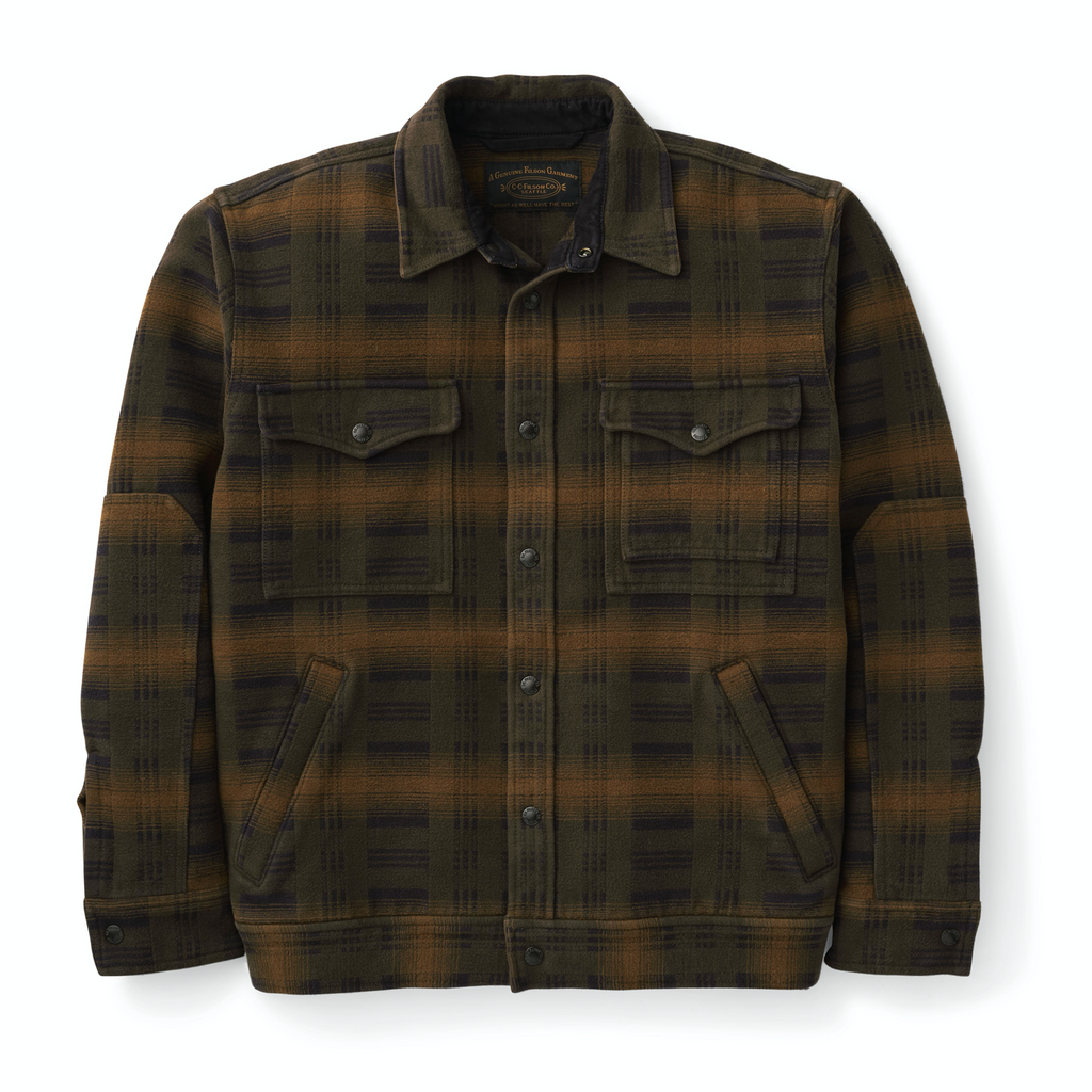 Filson Jakki - Beartooth Camp Jacket - Black Oliver