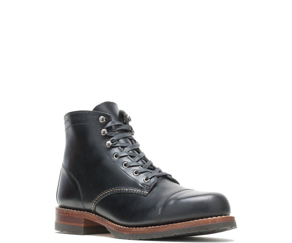 Wolverine Gönguskór - 1000 Mile Boot - Cap Toe Black