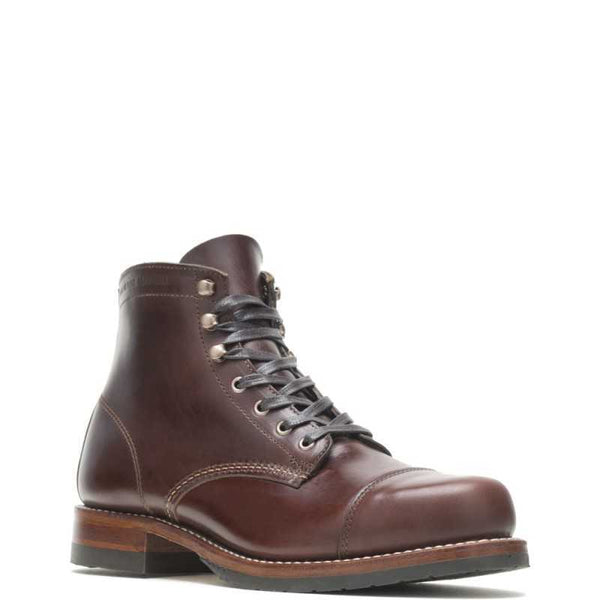 Wolverine Gönguskór - 1000 Mile Boot - Cap Toe Dark Brown