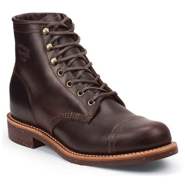 "Chippewa 1901M74 - Cordovan 6"" Cap Toe Homestead Boot"