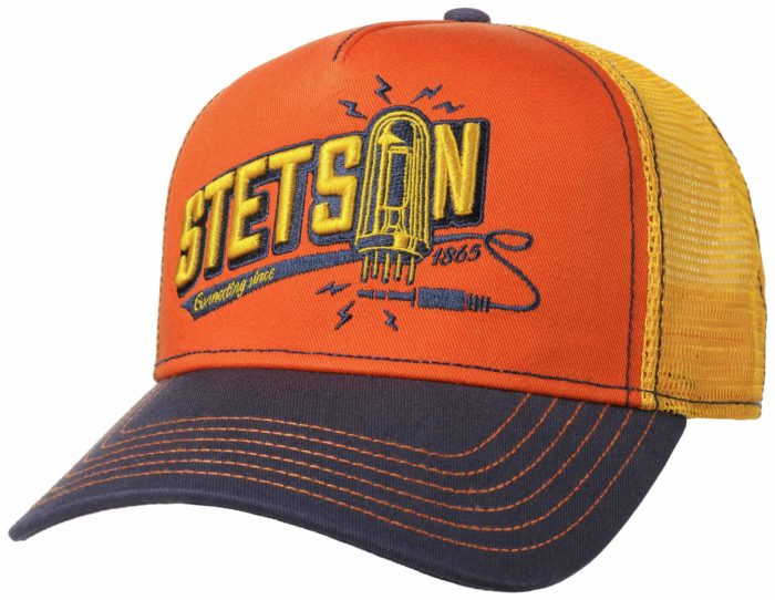 Stetson Derhúfa - Trucker Cap -  Connecting - 7751167 29
