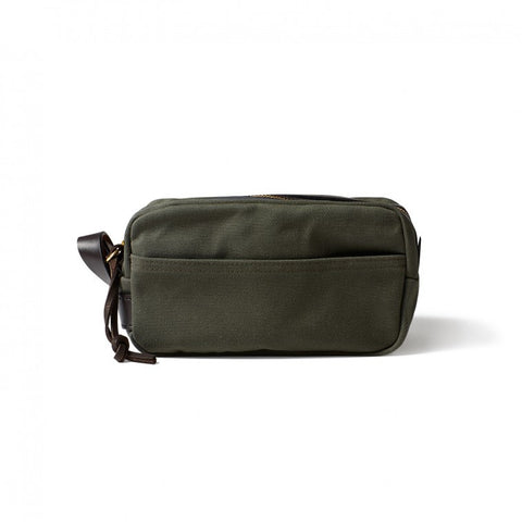 Filson - Travel Kit - Otter Green - snyrtitaska