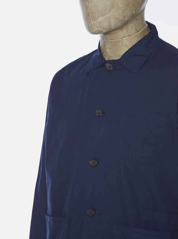 Universal Works Yfirskyrta - Bakers Overshirt - Navy
