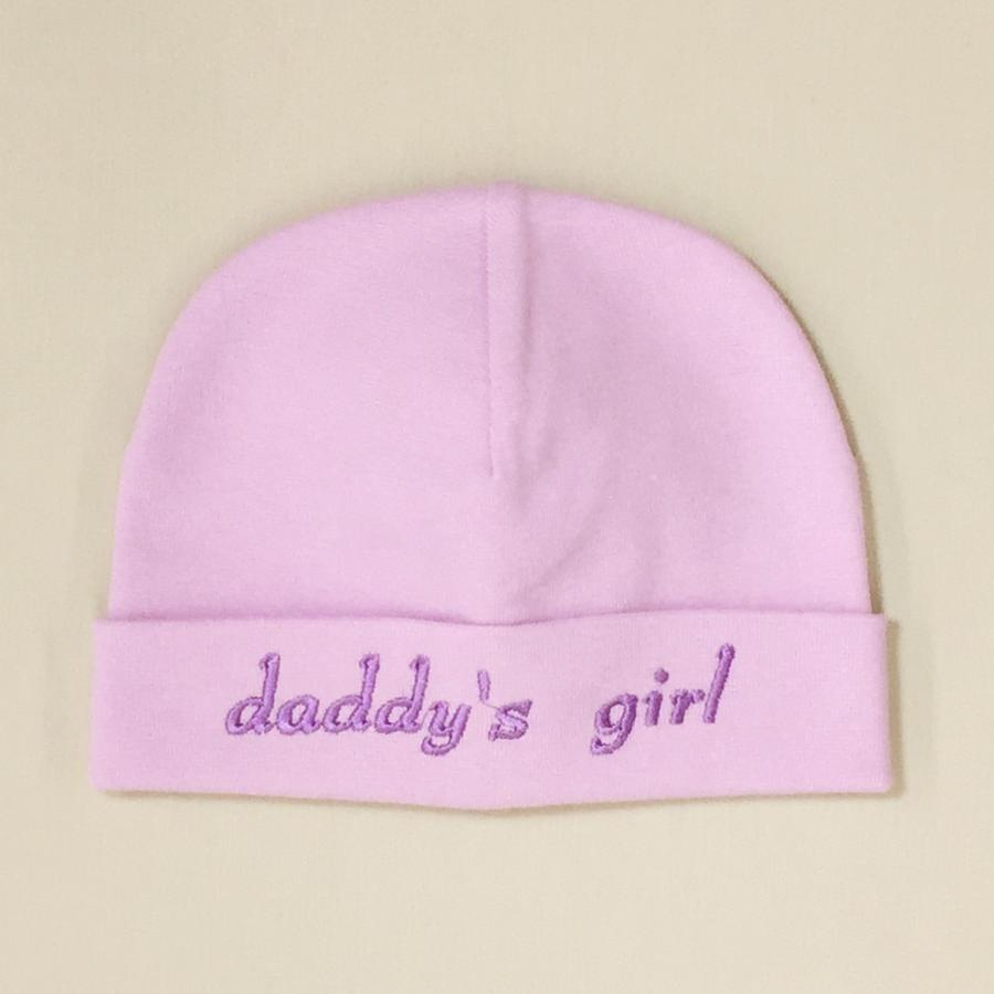 daddys girl embroidered hat