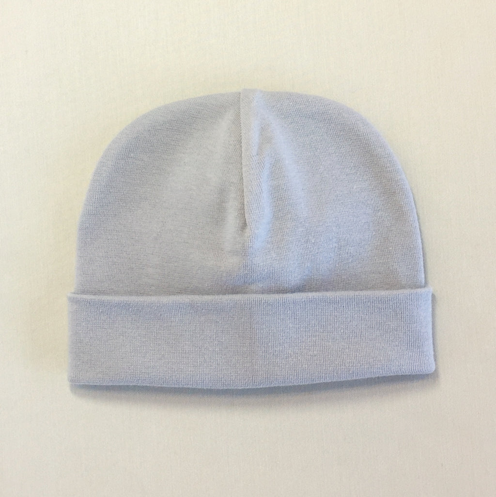 Custom Embroidered Hat Silver