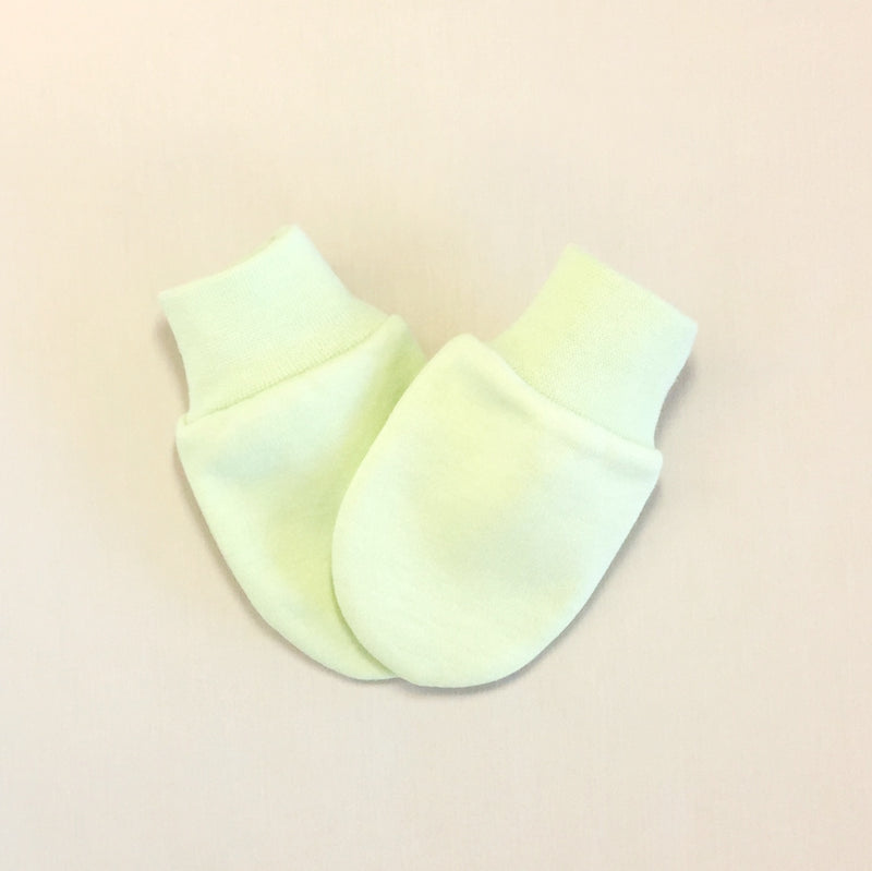 Scratch Mittens Solid Green