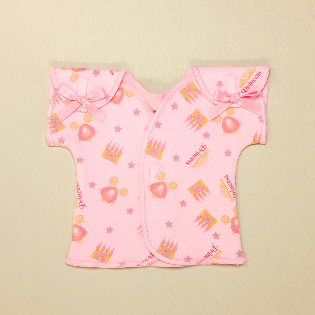 NICU adapted shirt for preemie baby