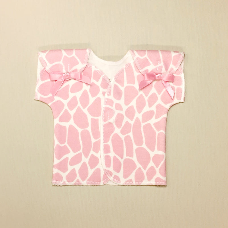 cotton NICU Friendly Tee Best Preemie clothes Made in Canada by Itty Bitty Baby