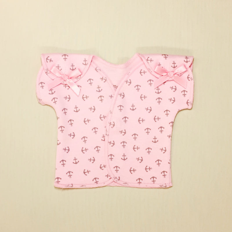NICU adapted shirt for mico preemie baby