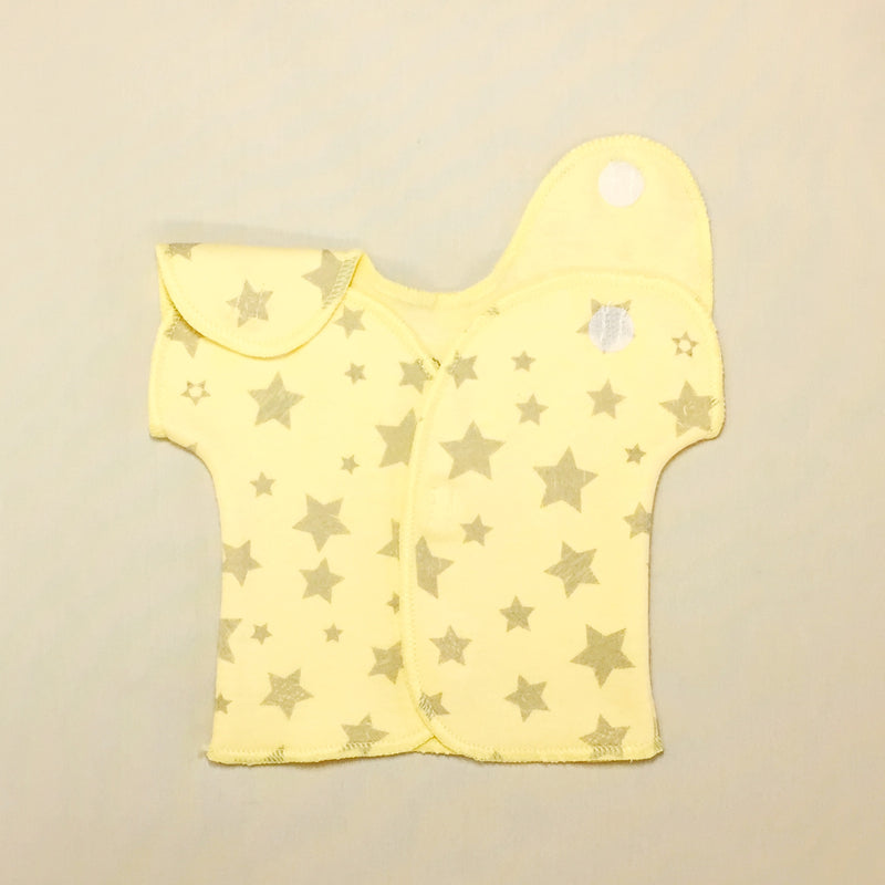 NICU adapted shirt for micro preemie baby