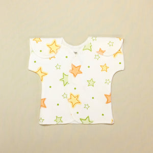 NICU friendly shirt for preemie baby