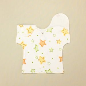 Neonatal intensive care unit shirt for micro preemie baby