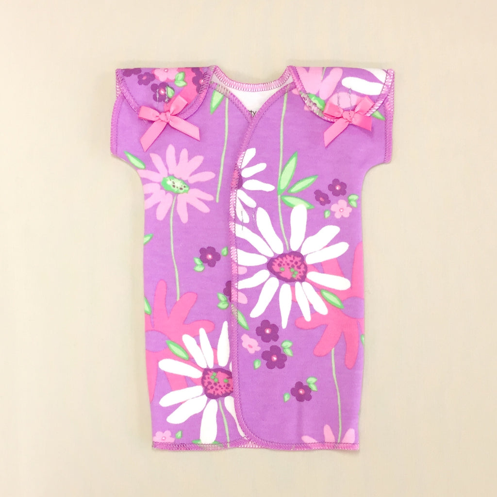 safe nicu adapted hospital gown for preemie baby