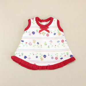Sleeveless NICU Ruffle Jumper Set - Birdies