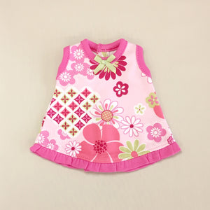 Sleeveless NICU Ruffle Jumper Set - Retro Flower