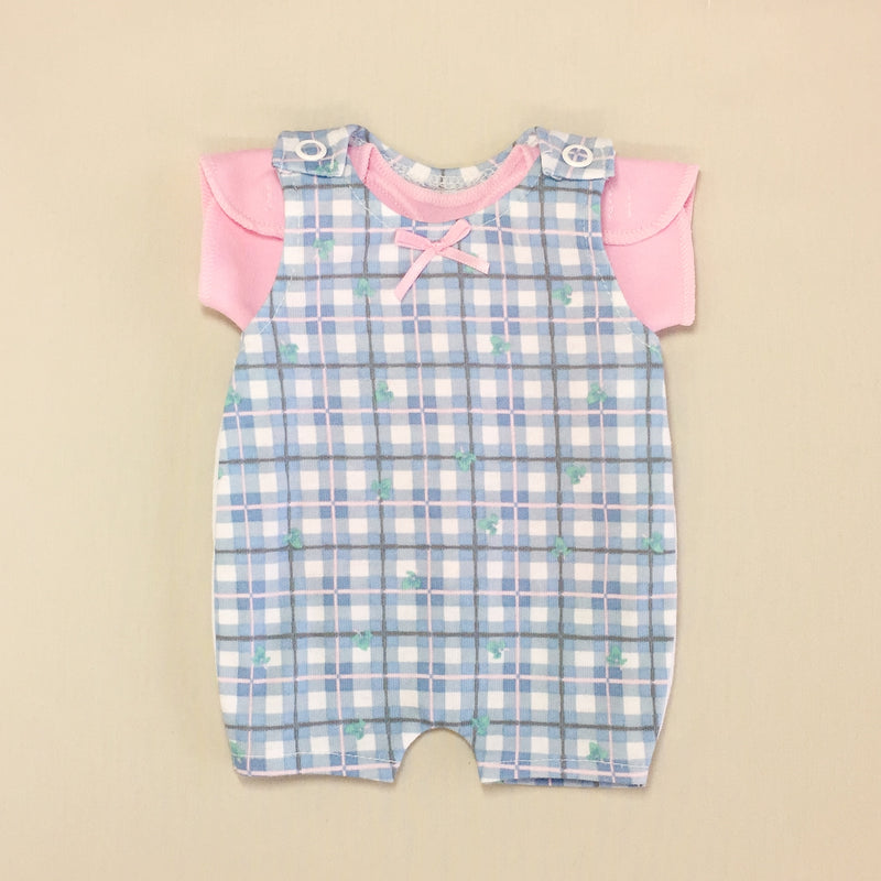 nicu adapted preemie baby overalls and shirt