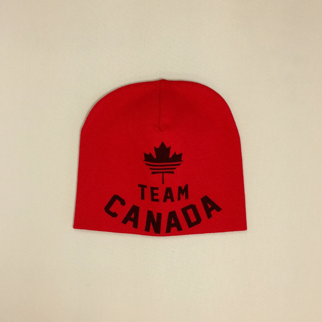 Best Baby Beanie Team Canada Red Made in Canada