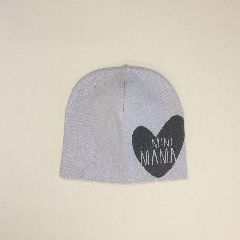 Mini Mama Best Baby Beanie Silver Made in Canada