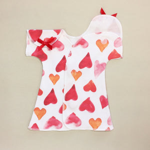 cotton nicu adapted dress for preemie
