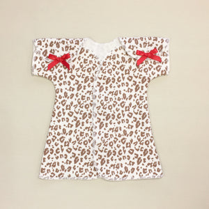 Fit & Flare NICU Dress  Cheetah