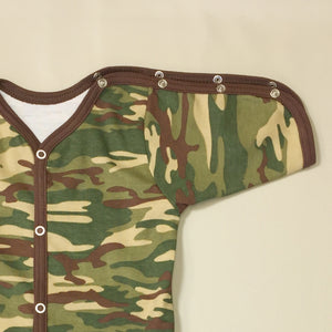PICU Friendly Gown Camouflage CHD child