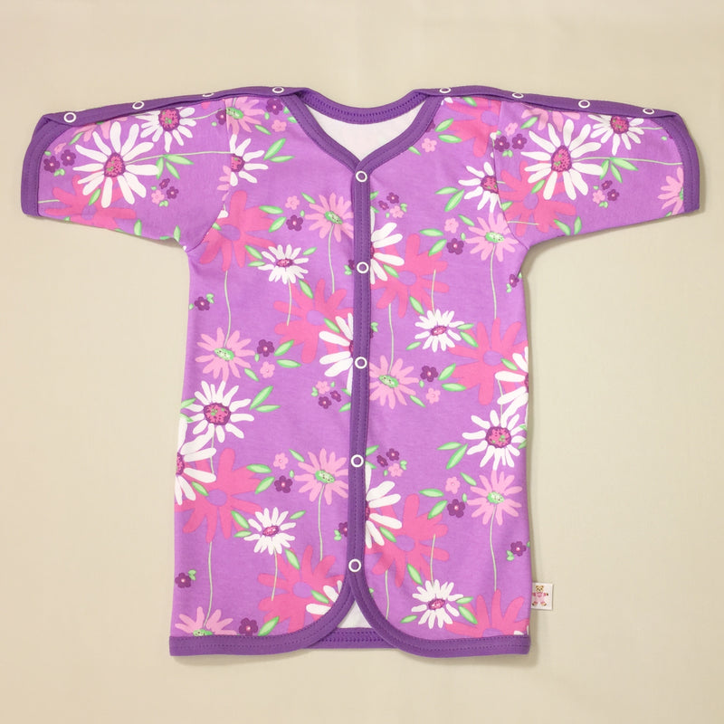 PICU Friendly Gown Wild Flower
