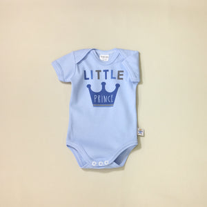 Little Prince graphic baby snap bodysuit