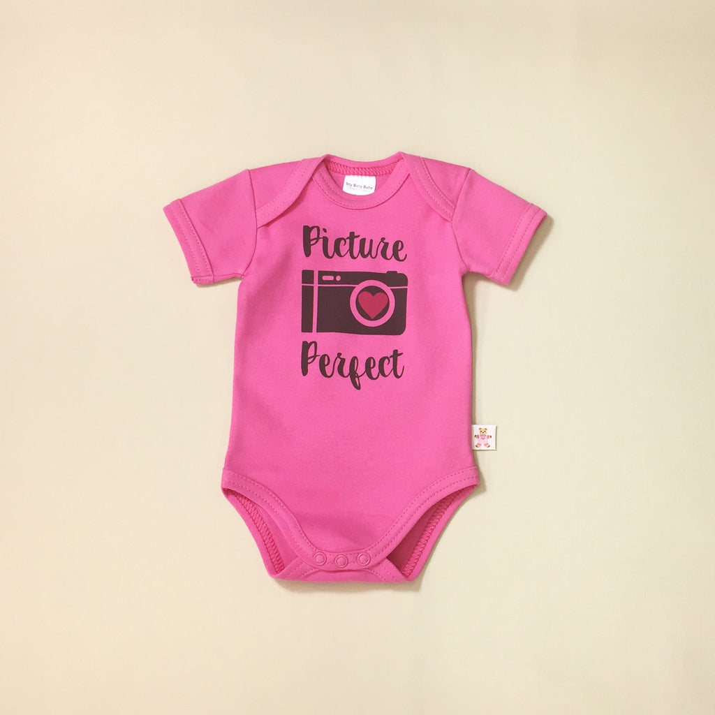 picture perfect graphic onesie