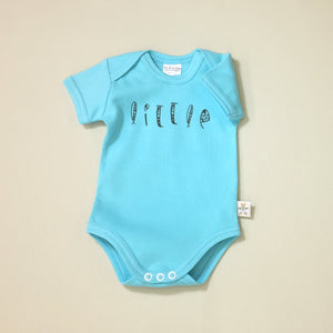 Little graphic baby snap bodysuit
