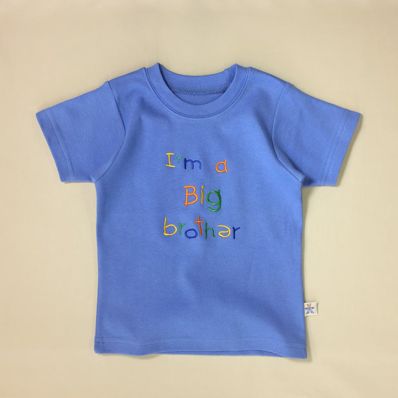 I'm A Big Brother Tee - Deep Blue
