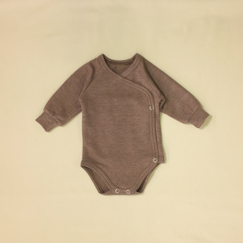bamboo lyocell preemie baby layette set sequoia bark