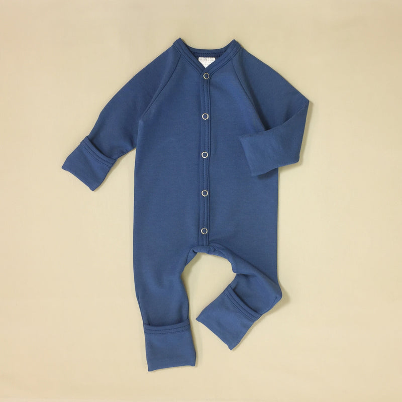 Bamboo Playsuit - Noble Blue