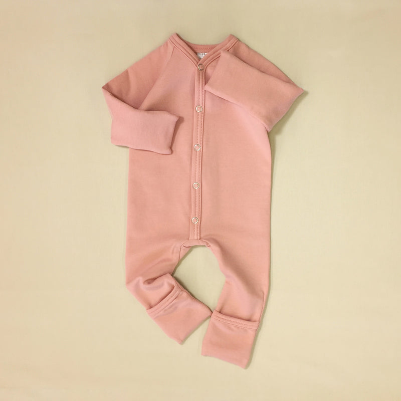 Bamboo Playsuit - Barely Blush
