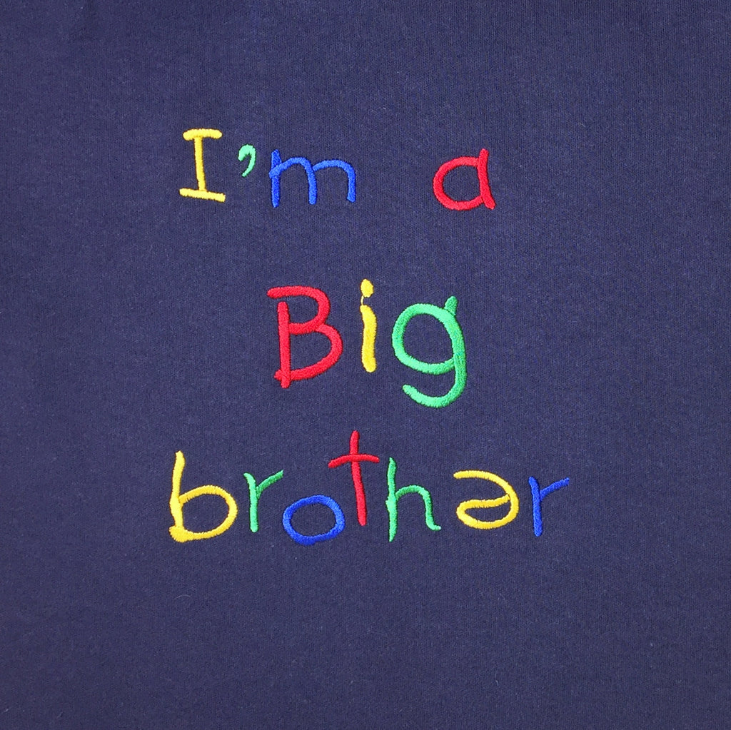 big brother embroidery