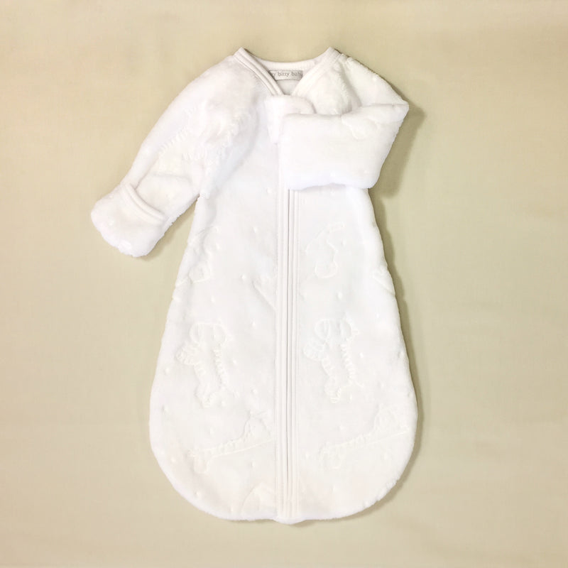 plush sleep sack wearable blanket