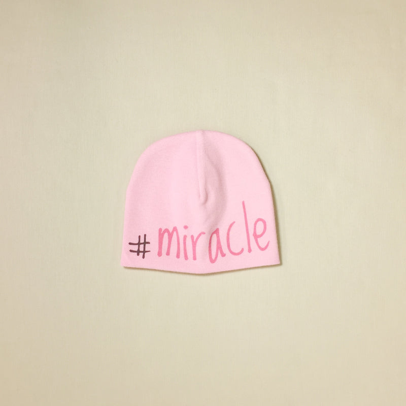#Miracle NICU Hat - Pink