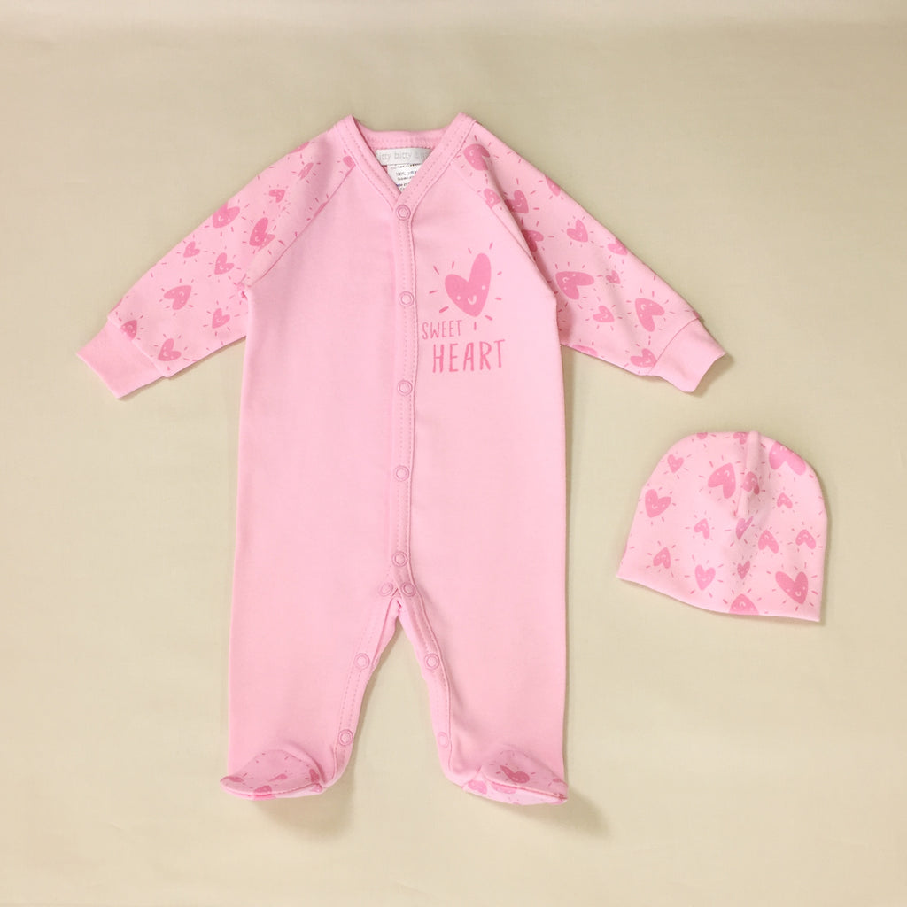 Sweet Heart Sleeper Set