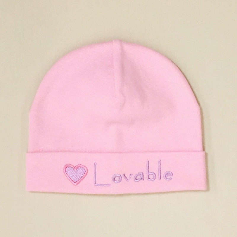 Lovable Embroidered Hat